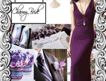 Сватба в лилаво Charmybride.com