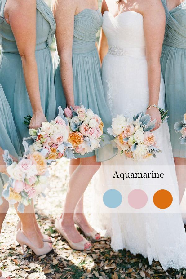 Модни цветове за сватбите сезон пролет 2015