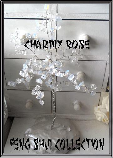 Фън Шуй дръвче от Лунен камък- Charmyrose.com