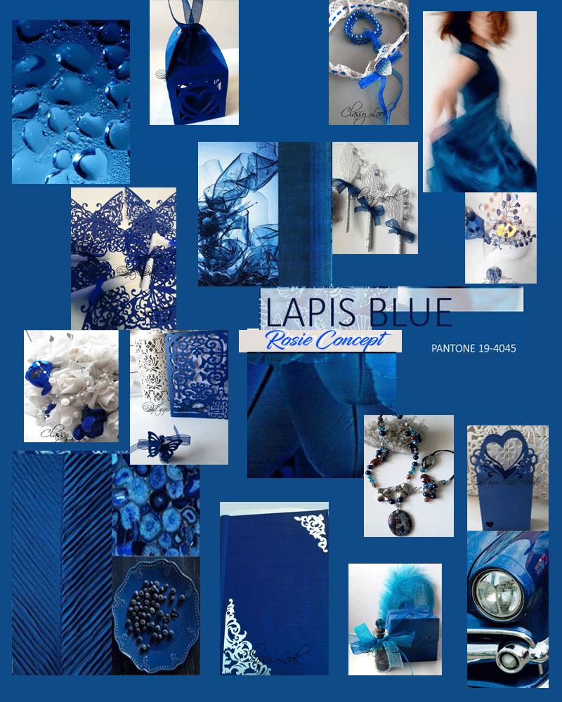 Най- актуалните сватбени и модни цветове за сезон 2017 – номер две Lapis Blue