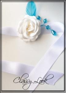Сатенена гривна за шаферки от CharmyBride.com