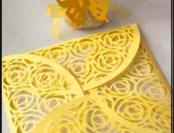 Сватбена покана и подаръче за гости Charmybride