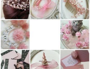 Сватба в розово и пепел от роза – за романтични булки