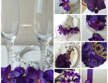 Сватба в лилаво - Purple Passion