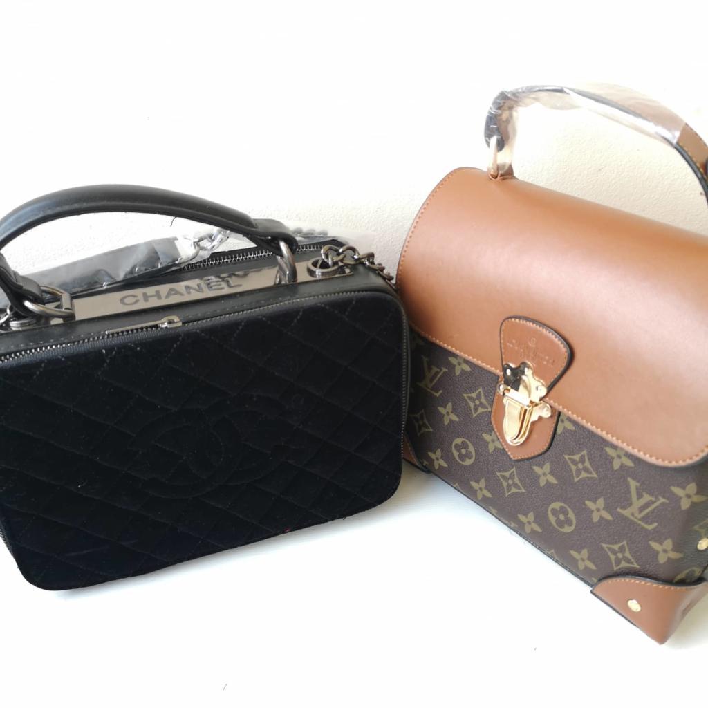Чанти Chanel и Louis Vuitton