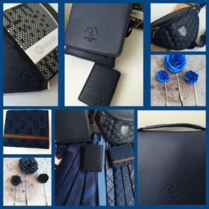 колекция мъжки чанти, портфейли и бутониери za-nego.com
