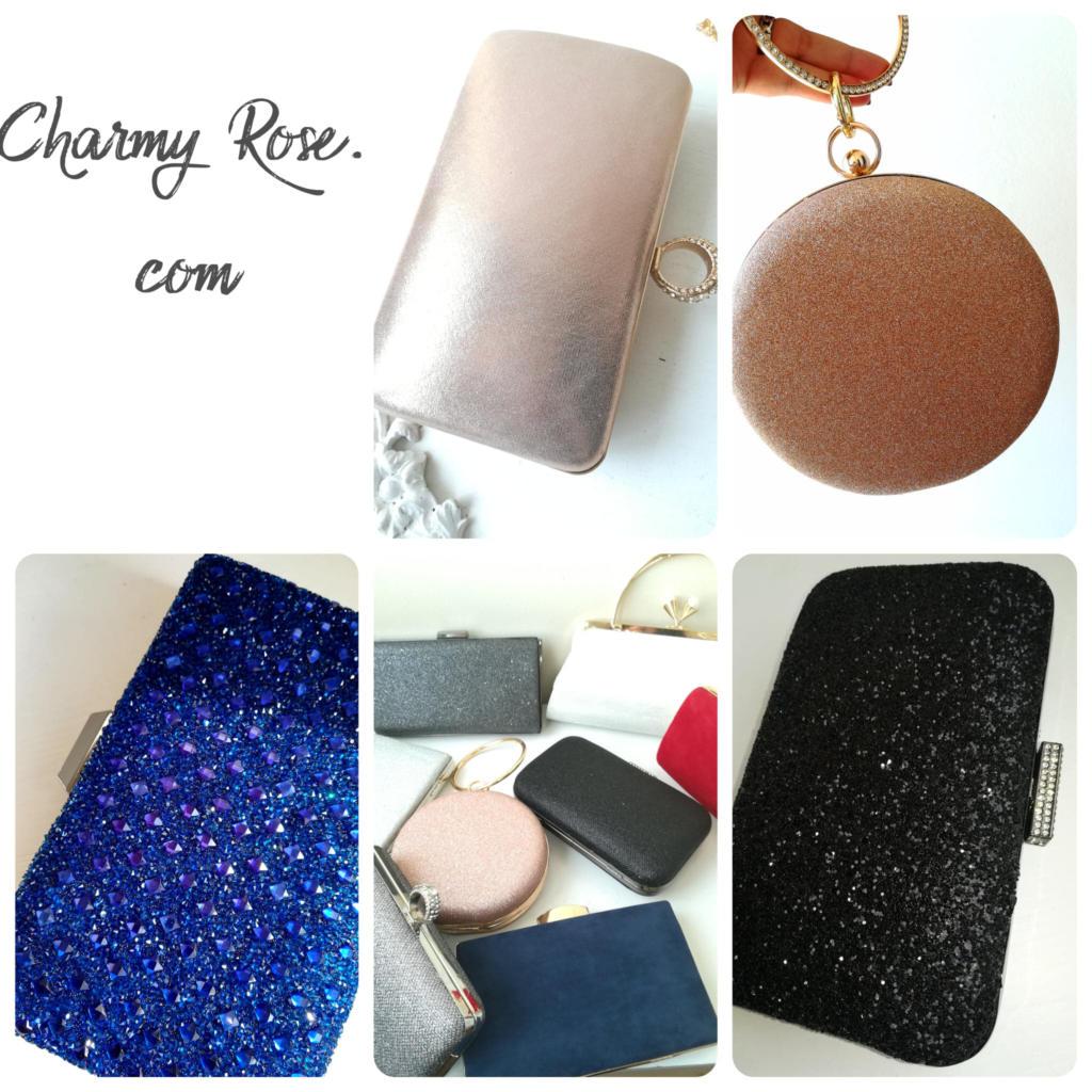 Елегантни дамски чанти за бал коктейл или парти - Charmy Rose. com