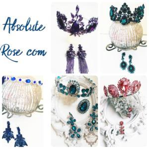 Актуални модели кристални корони и диадеми за празнични случаи - Absolute Rose. com