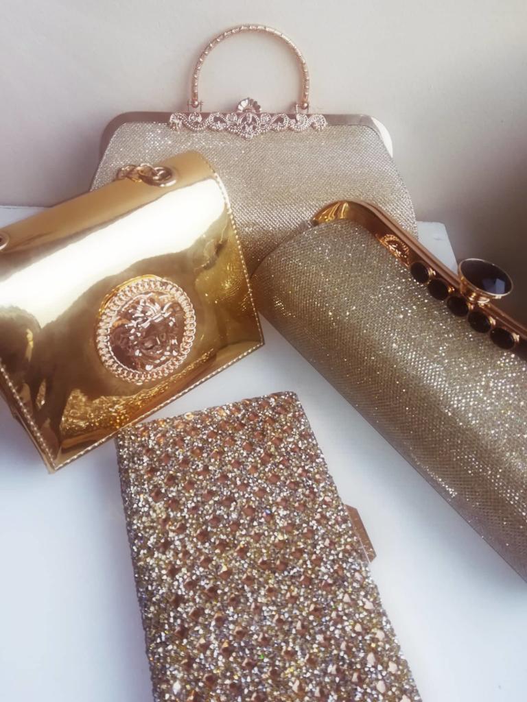 Луксозни дамски официални чанти - CharmyRose.com