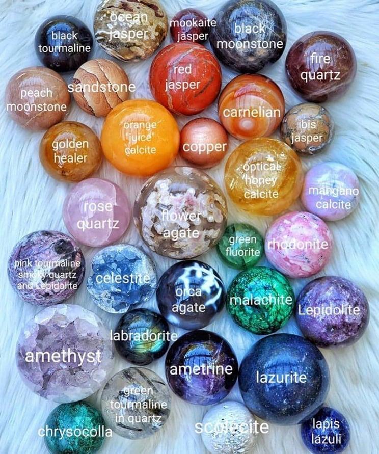 Зареждане на полускъпоценни камъни и кристали с положителна енергия