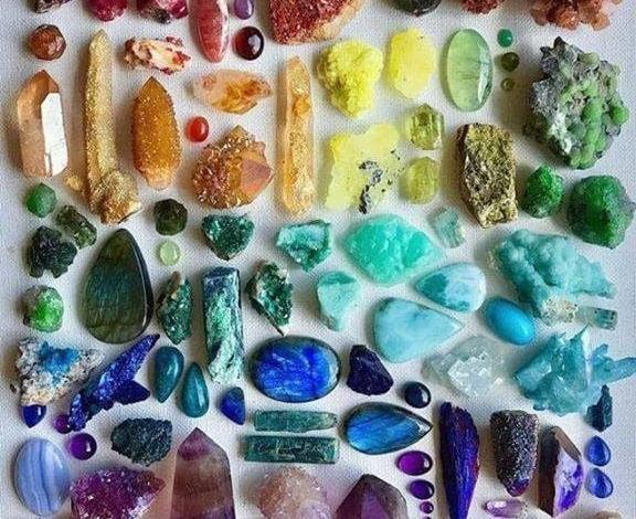 Как да кодираме своите кристали и полускепоценни камъни