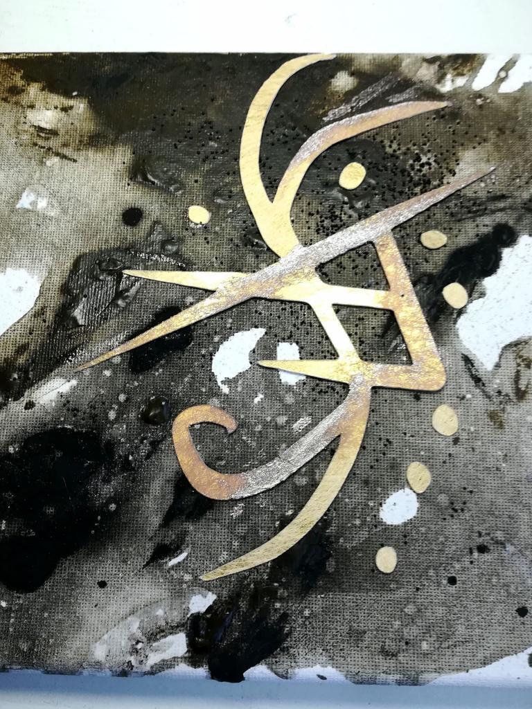 Талисман за пари и късмет - картина със сигил Artofamulets.com