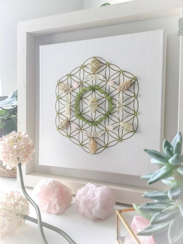Кристална решетка - цветето на живота