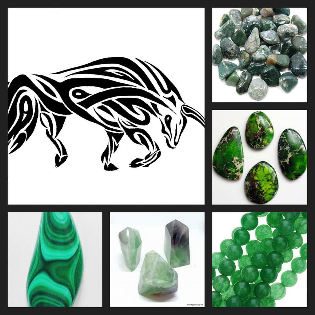 Късметлийски полускъпоценни камъни за 2021- годината на бика