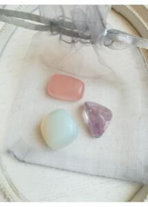 Комплект полускъпоценни камъни за любов хармония дом и деца