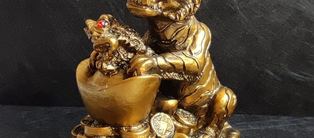 Фън шуй сувенир за привличане на пари в дома през новата 2022 годината на Тигъра XXL